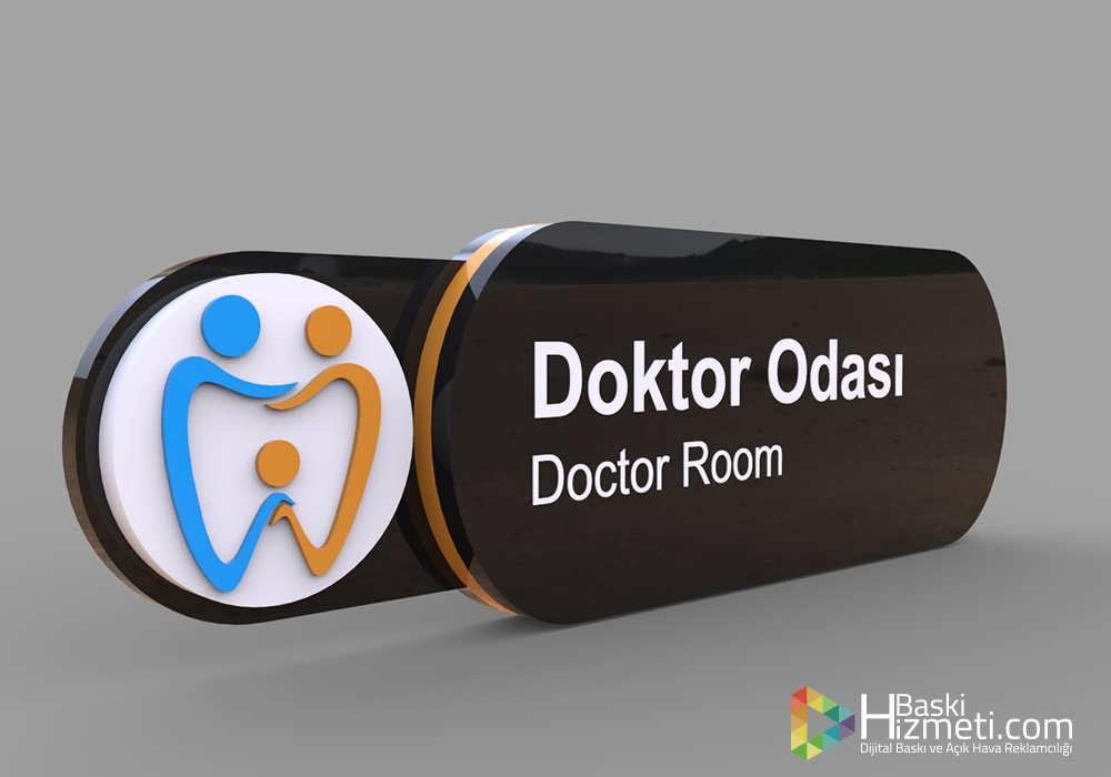 hastane kapı isimliği